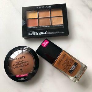 drugstore makeup bundle for dark skin